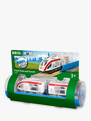 Brio World Travel Train and Tunnel