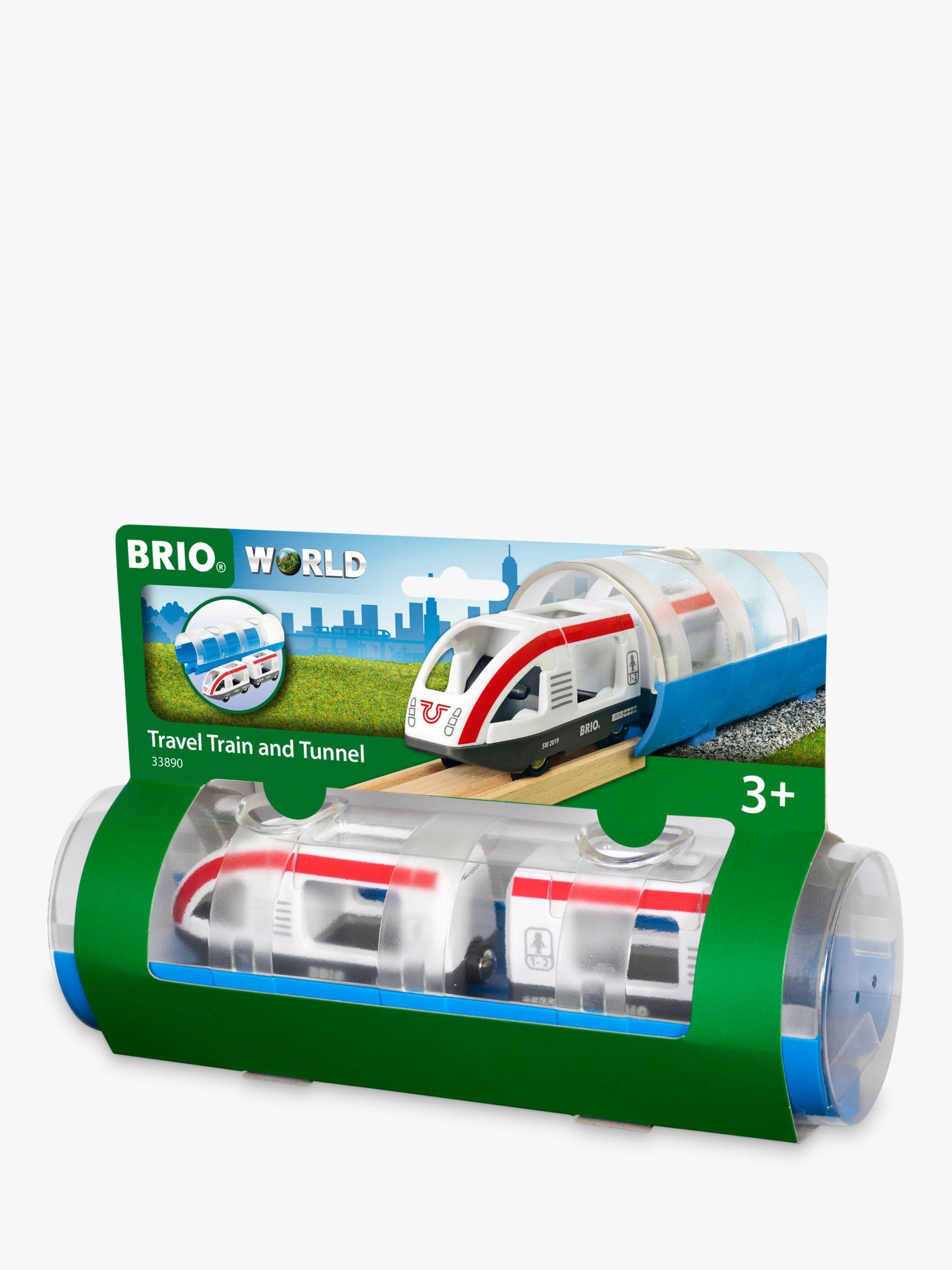 BRIO BRIO World Travel Train and Tunnel