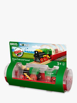 Brio World Steam Train and Tunnel