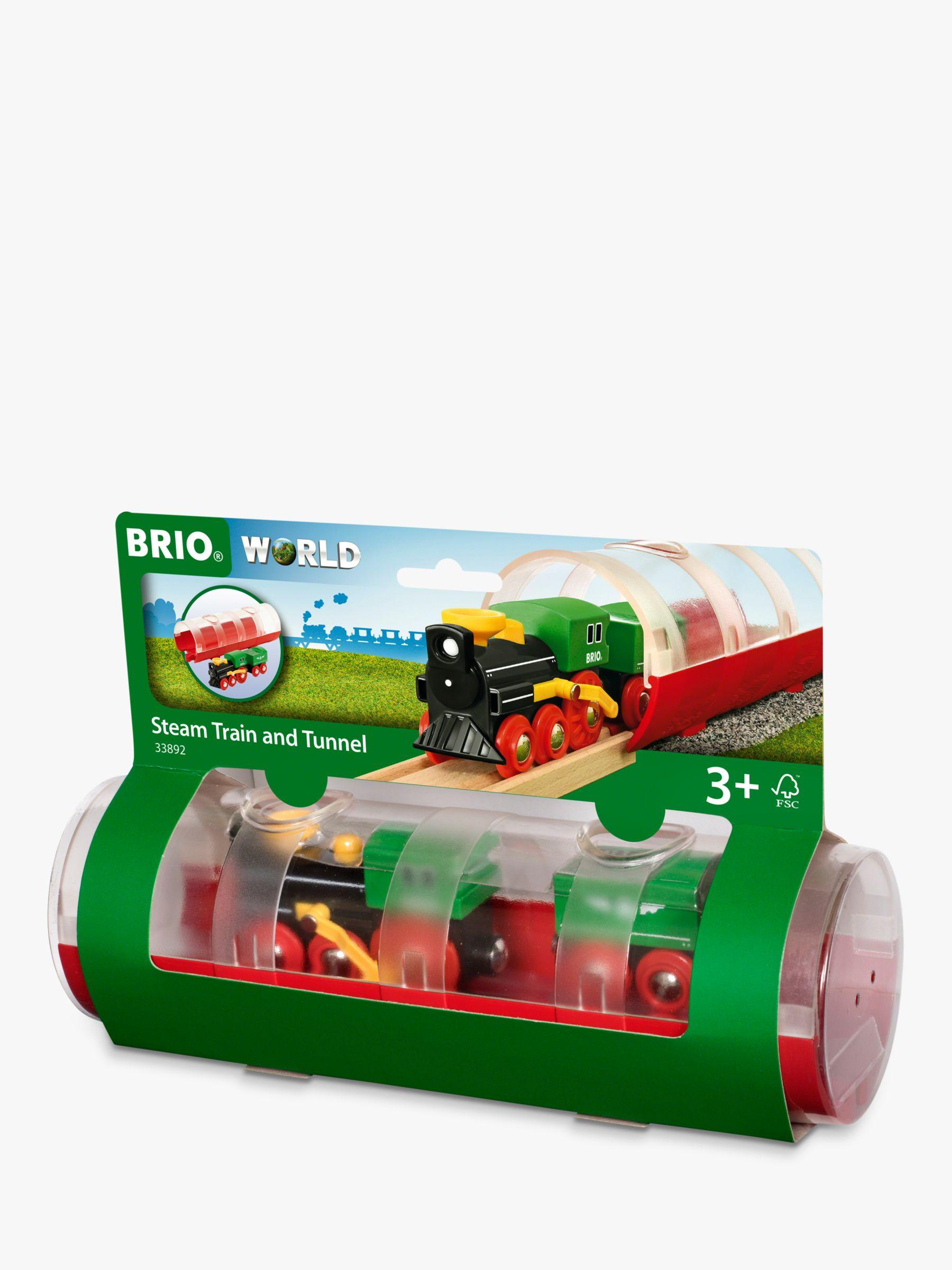 BRIO BRIO World Steam Train and Tunnel