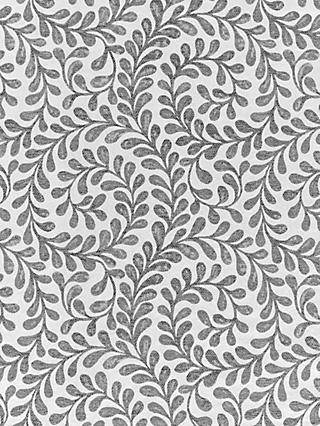 John Lewis & Partners Vera Leaf Furnishing Fabric, Steel