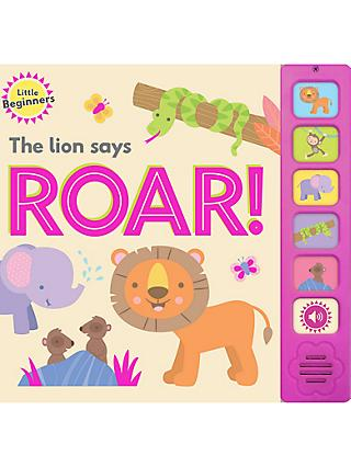 The Lion Says Roar Children's Book