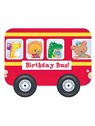 Whizzy Wheels Birthday Bus Children's Book