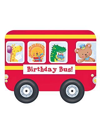 Whizzy Wheels Birthday Bus Childrens Book