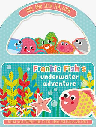 Frankie Fish's Underwater Adventure Happy Handles Children's Book