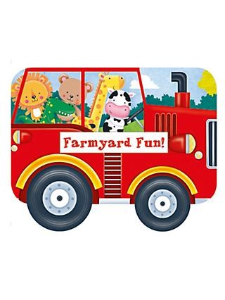 Whizzy Wheels Farmyard Fun Children's Book