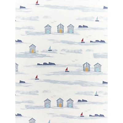 John Lewis & Partners Beach Huts Furnishing Fabric