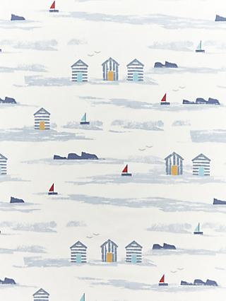 John Lewis & Partners Beach Huts Furnishing Fabric