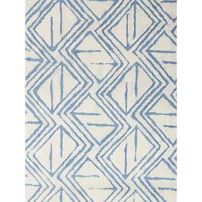 John Lewis & Partners Kasuri Furnishing Fabric, Indian Blue