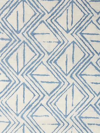 John Lewis & Partners Kasuri Furnishing Fabric, Indian Blue