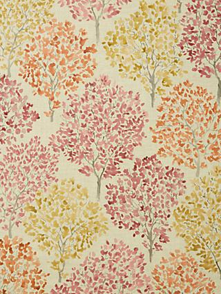 John Lewis & Partners Leckford Trees Furnishing Fabric, Autumn