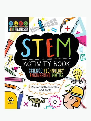 STEM Activity Book: Science, Technology, Engineering, Maths Children's Book