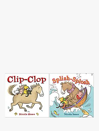 Clip-Clop & Splish-Splosh Children's Book, Pack of 2
