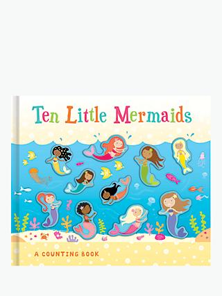 Ten Little Mermaids Children's Counting Book