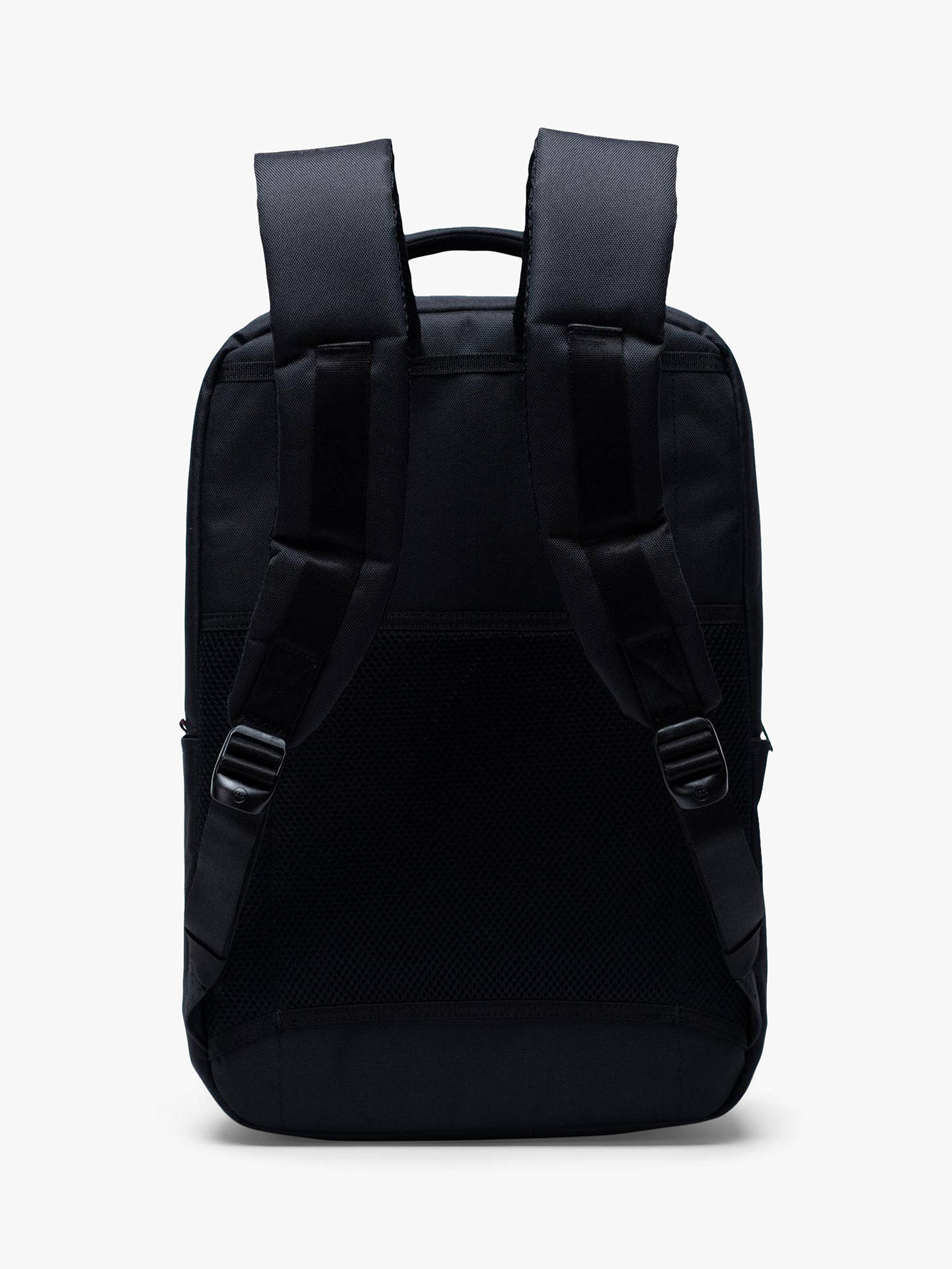 Buy Herschel Supply Co. Travel Daypack Backpack, Black Online at johnlewis.com