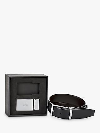 a6950d273a3 BOSS Gionert Leather Belt Gift Set