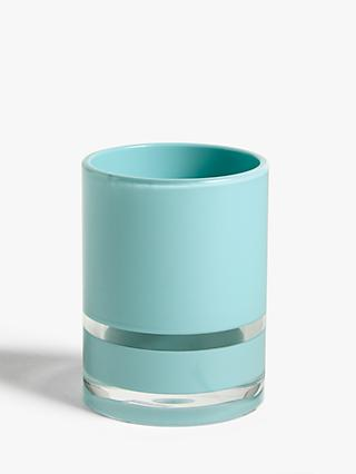 ANYDAY John Lewis & Partners Block Stripe Bathroom Tumbler