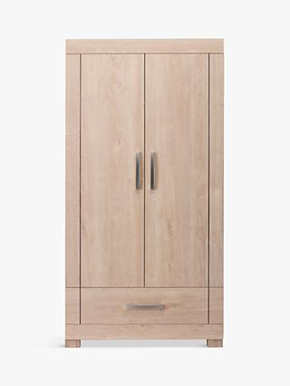 Silver Cross Camberwell Wardrobe, Textured Grain Oak