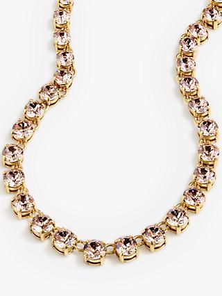 J.Crew Swarovski Crystal Chain Necklace 076c8764fddd