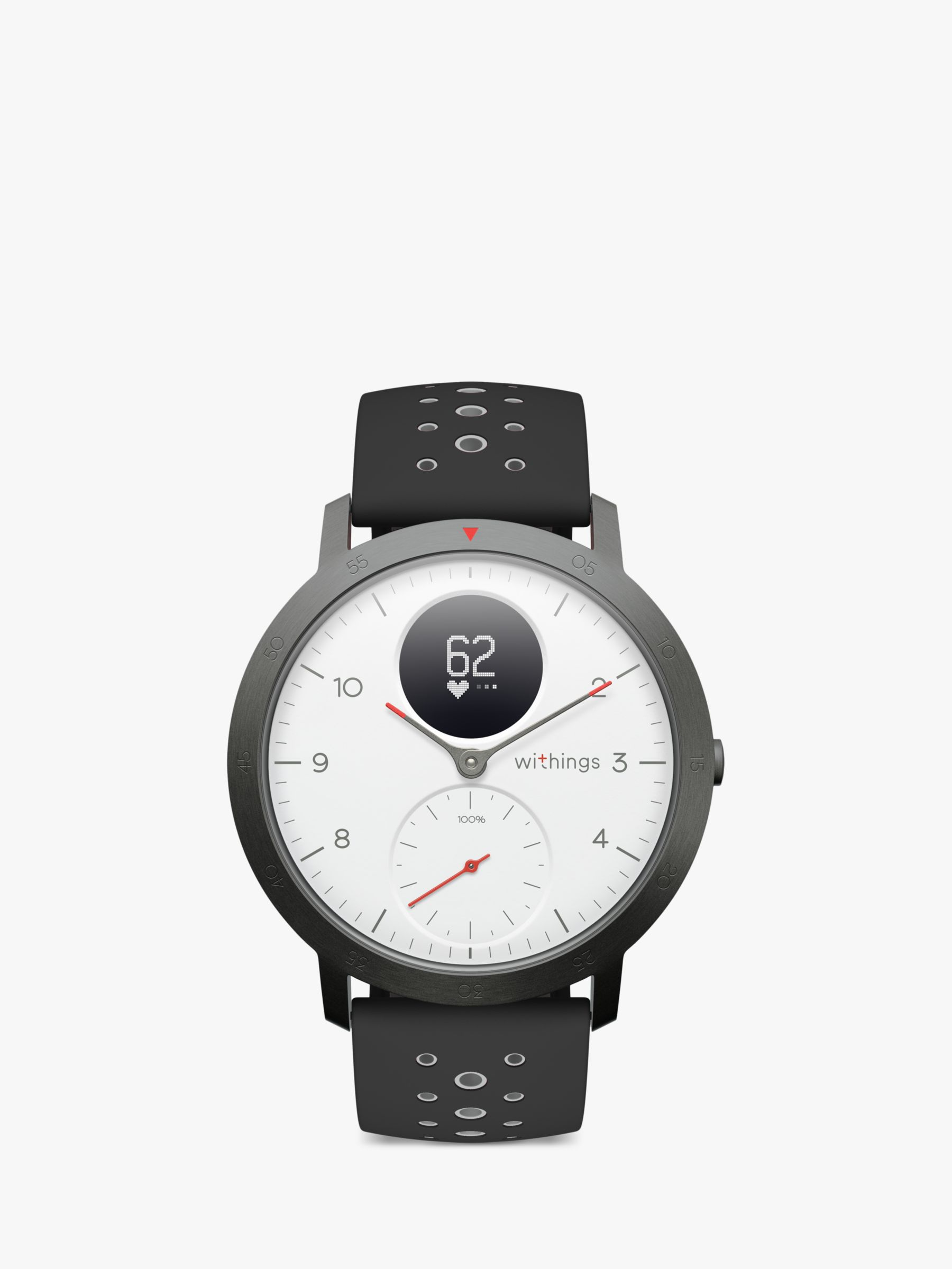 Withings Withings Steel HR Sport Activity Tracking Watch, 40mm