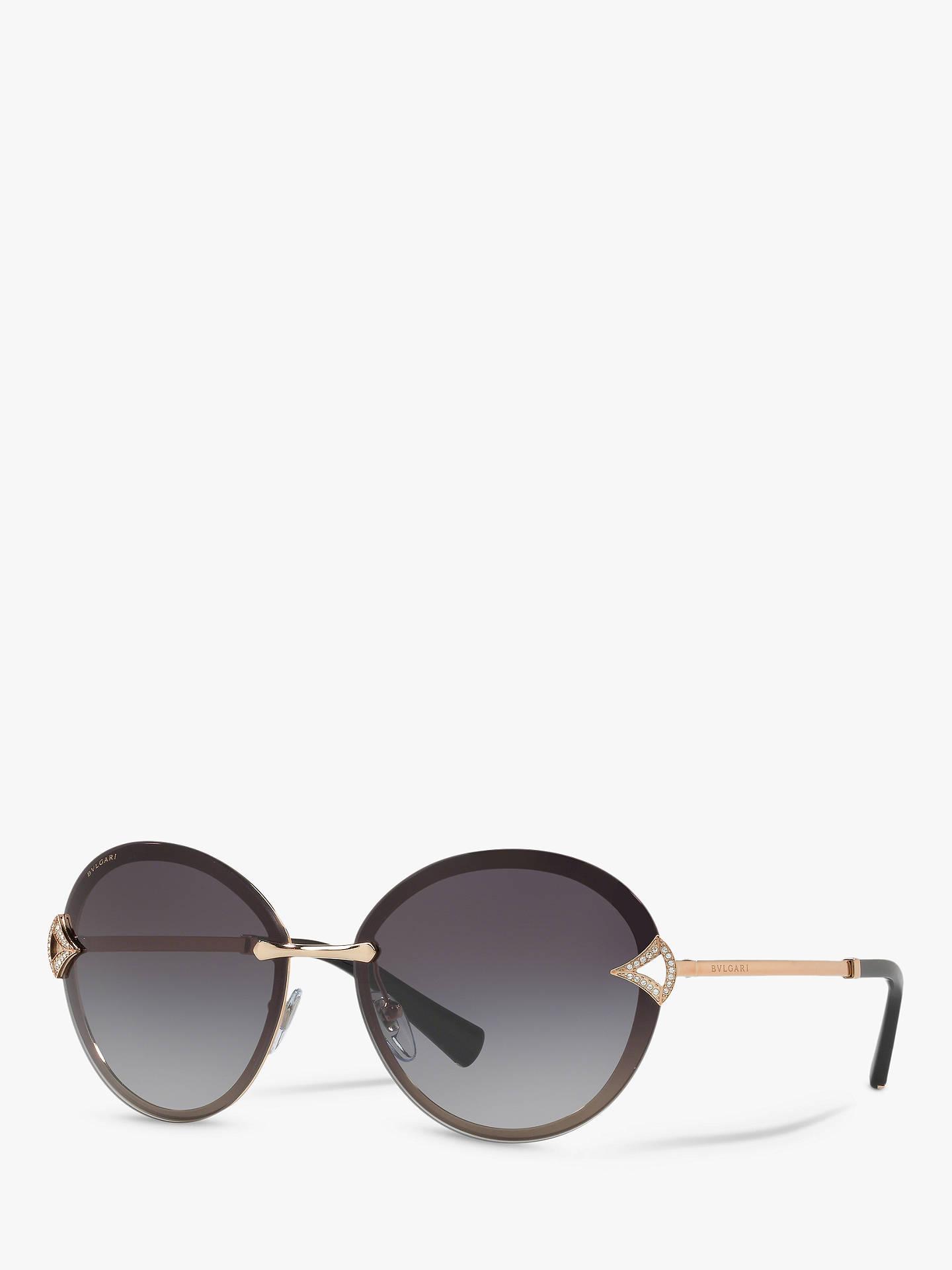 2043e78d95a Buy BVLGARI BV6101 Women s Embellished Round Sunglasses