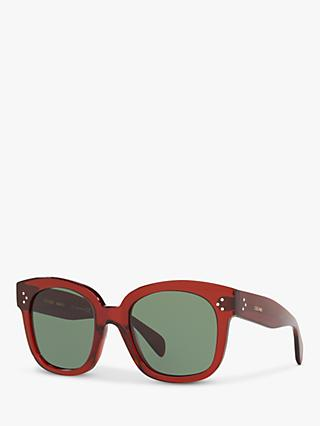 Celine CL4002UN Women's Rectangular Sunglasses
