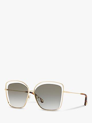 Chloé CE133S Women's Double Rim Square Sunglasses
