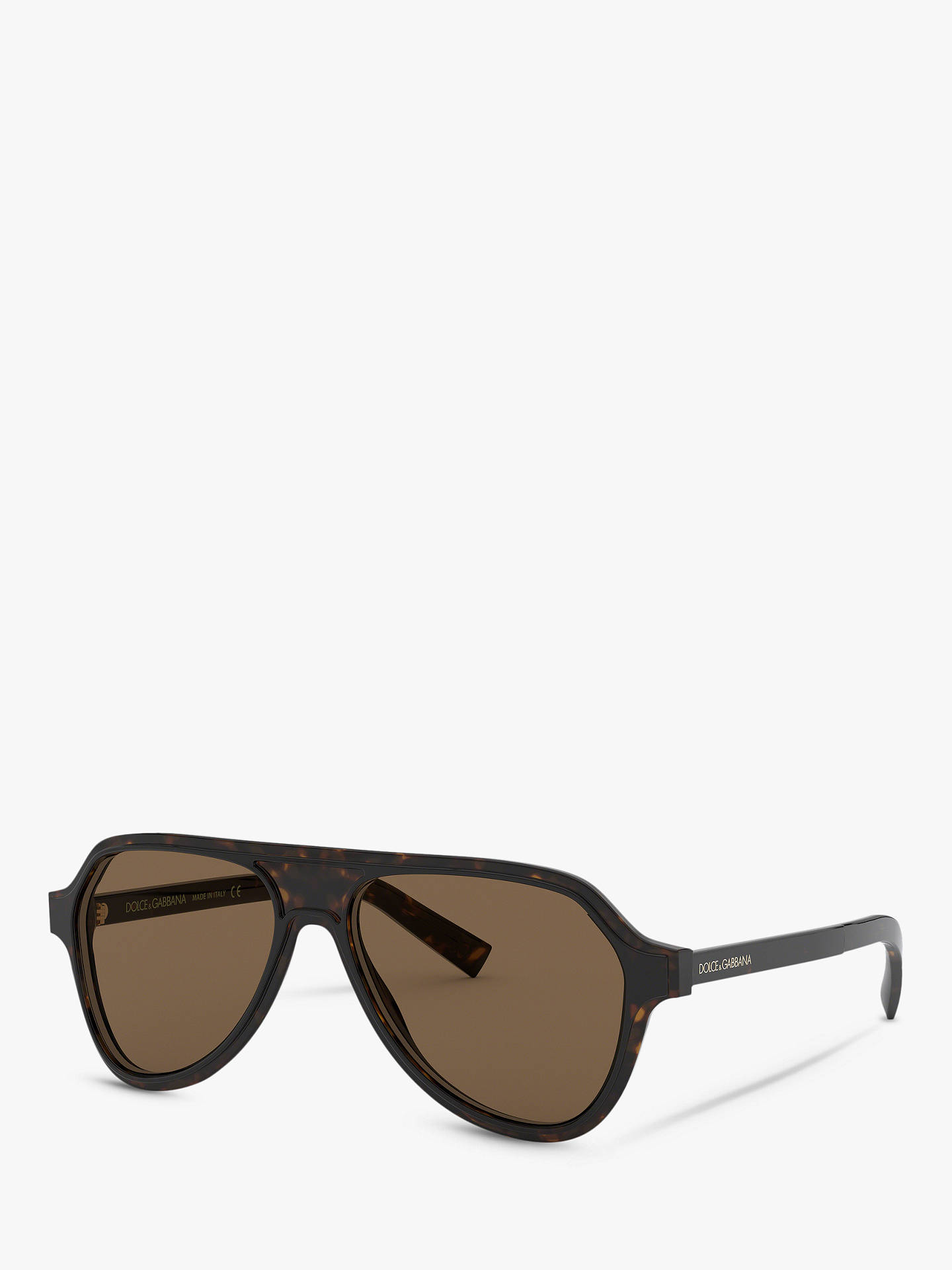 caa601500a17 Dolce   Gabbana DG4355 Women s Aviator Sunglasses at John Lewis ...