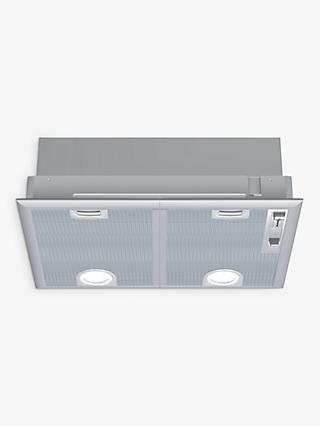 Neff D5655X1GB 53cm Canopy Cooker Hood, C Energy Rating, Silver