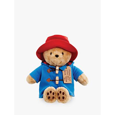 Image of Paddington Bear Plush Soft Toy, Medium