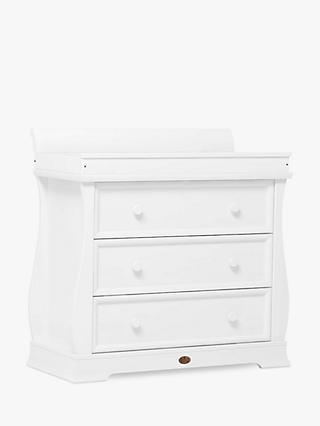 Boori Sleigh Three Drawer Dresser, Barley