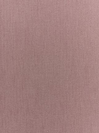Croft Collection Herringbone Furnishing Fabric, Plum