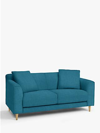 John Lewis & Partners Billow Medium 2 Seater Sofa, Light Leg, Hatton Teal