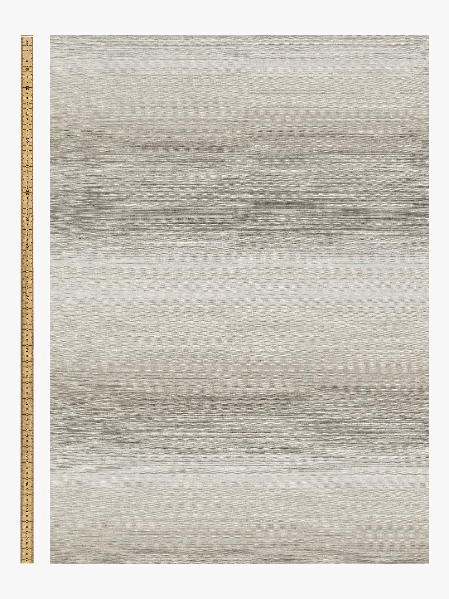 Buy John Lewis & Partners Horizon Stripe Furnishing Fabric, Natural Online at johnlewis.com
