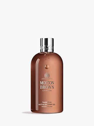 Molton Brown Suede Orris Bath & Shower Gel, 300ml