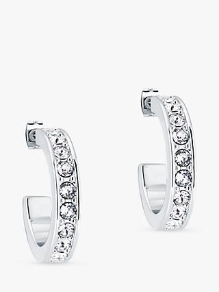 Ted Baker Seannia Swarovski Crystal Hoop Earrings