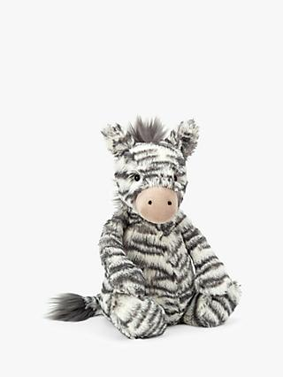 Jellycat Bashful Zebra Soft Toy, Medium