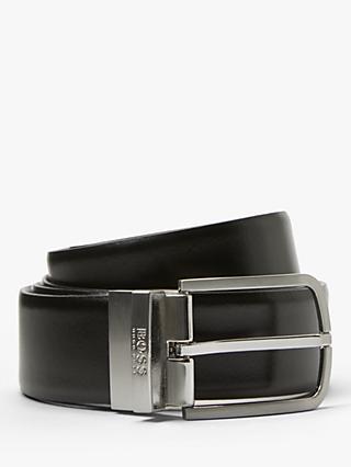 faaa3c58a15 BOSS Owen Reversible Leather Belt