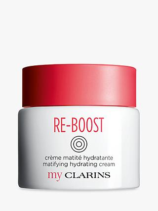 Clarins My Clarins RE-BOOST Matifying Hydrating Cream, Oily Skin, 50ml