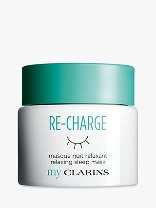 Clarins My Clarins RE-CHARGE Relaxing Sleep Mask, 50ml