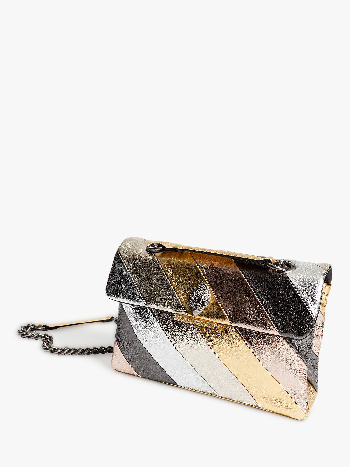 3a1b71623c Buy Kurt Geiger Kensington Striped Leather Shoulder Bag
