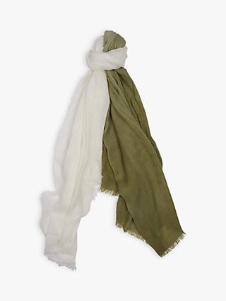 Barbour Dip Dye Wrap, Sage