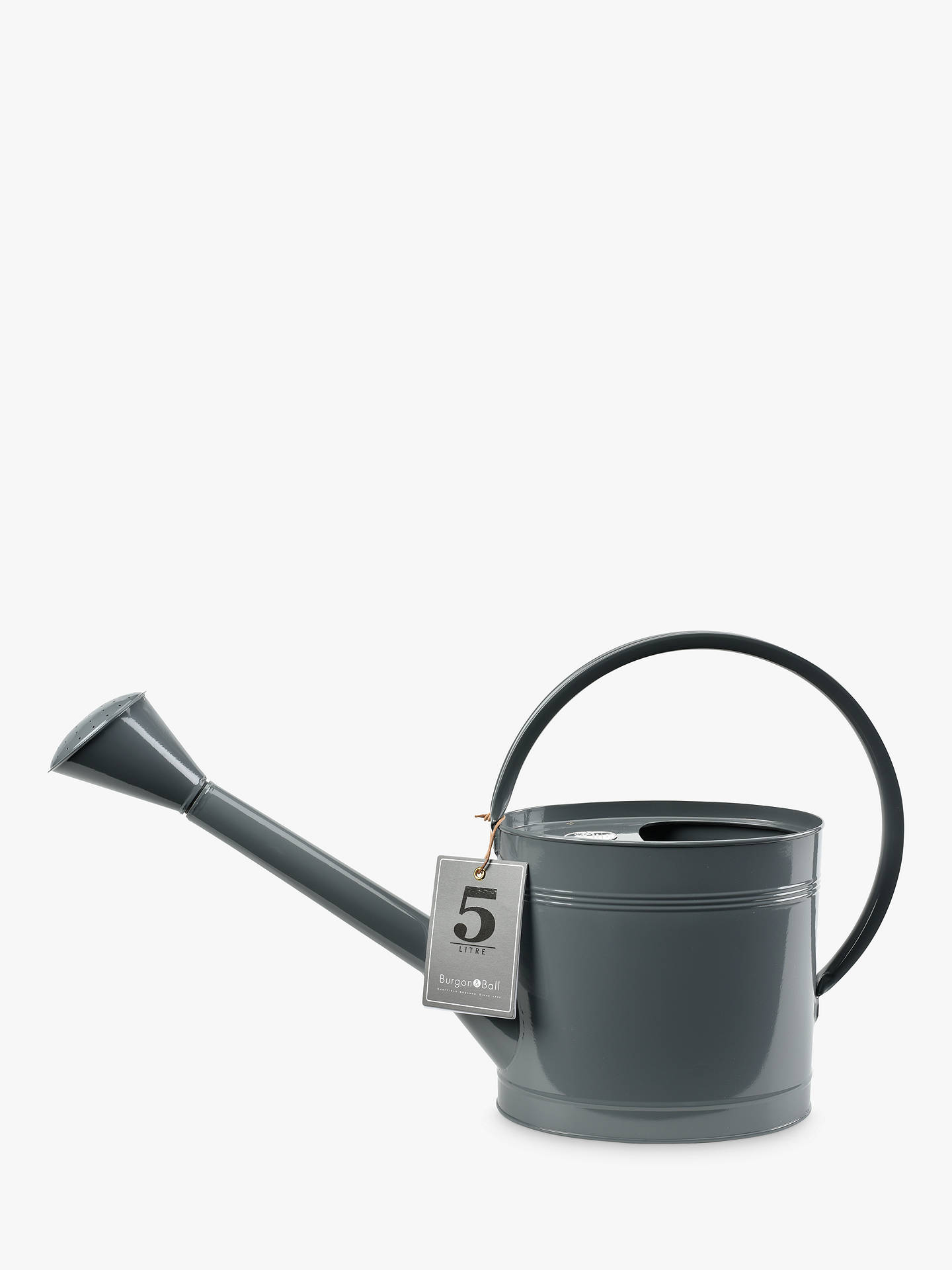 Buy Burgon & Ball Watering Can, 5L, Slate Online at johnlewis.com