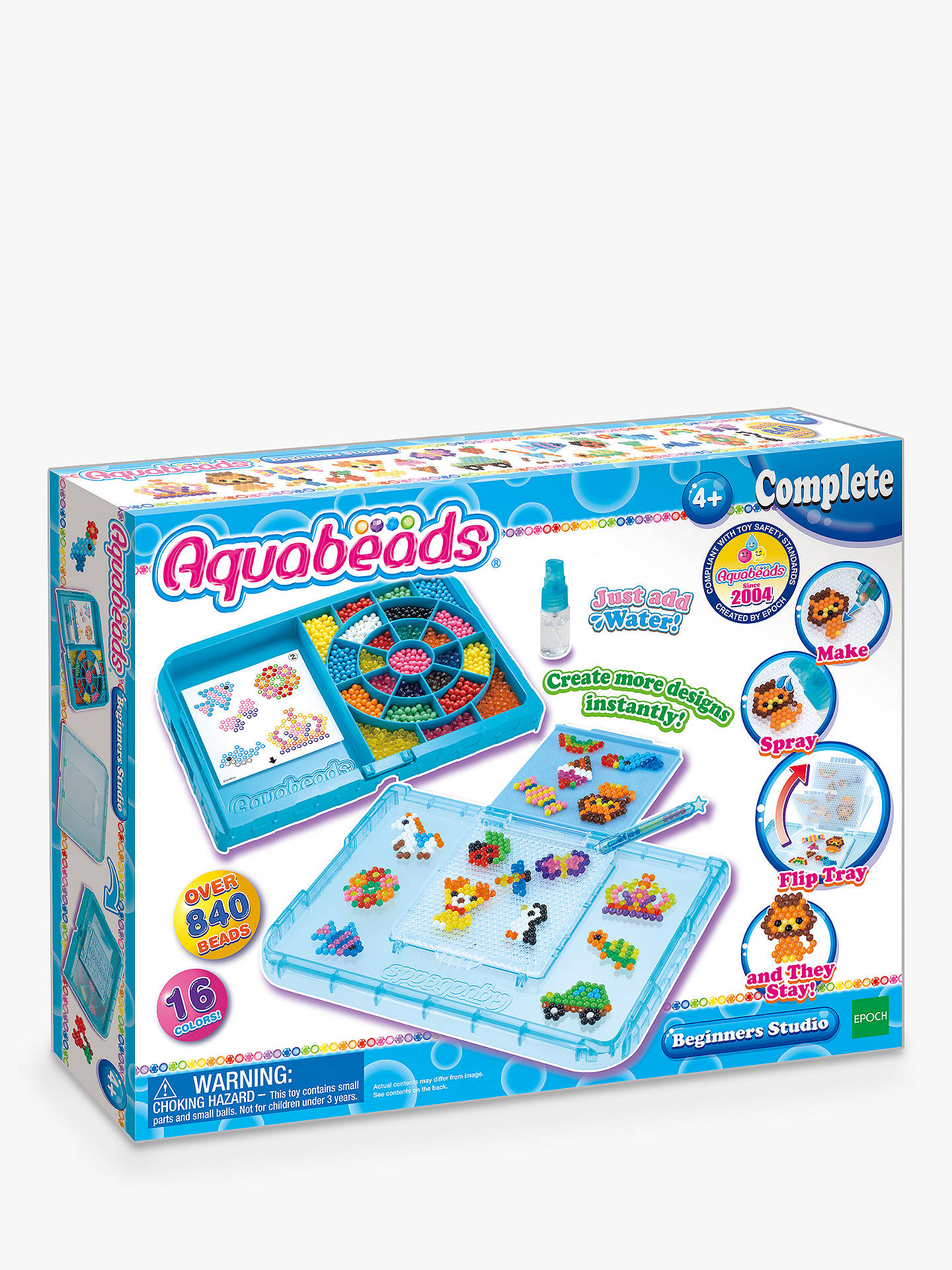 Buy Aquabeads Complete Beginners Studio Online at johnlewis.com