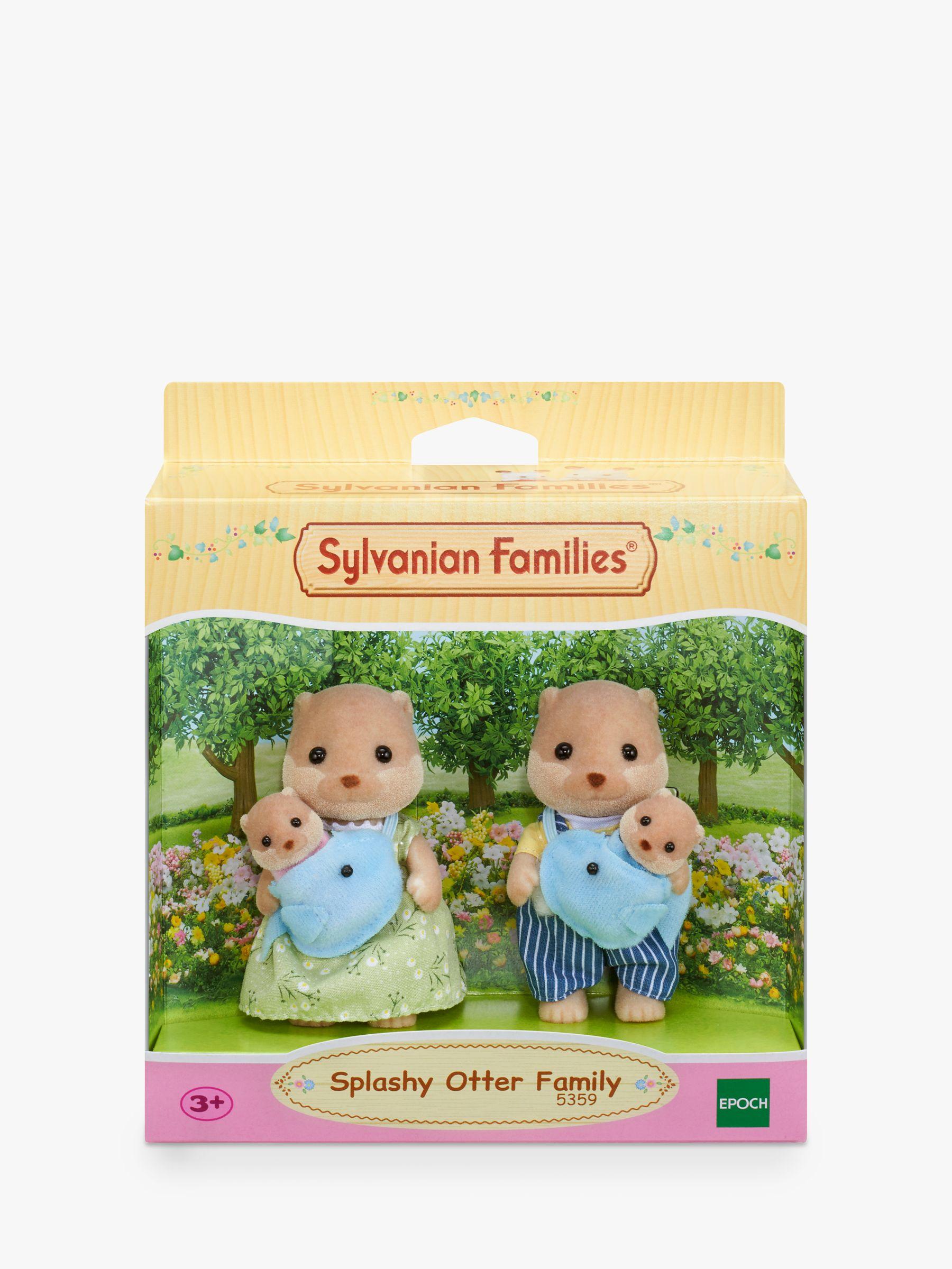 Sylvanian Families Sylvanian Families Splashy Otter Family