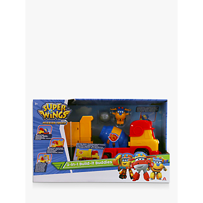 Super Wings 3-in-1 Build-it Buddies