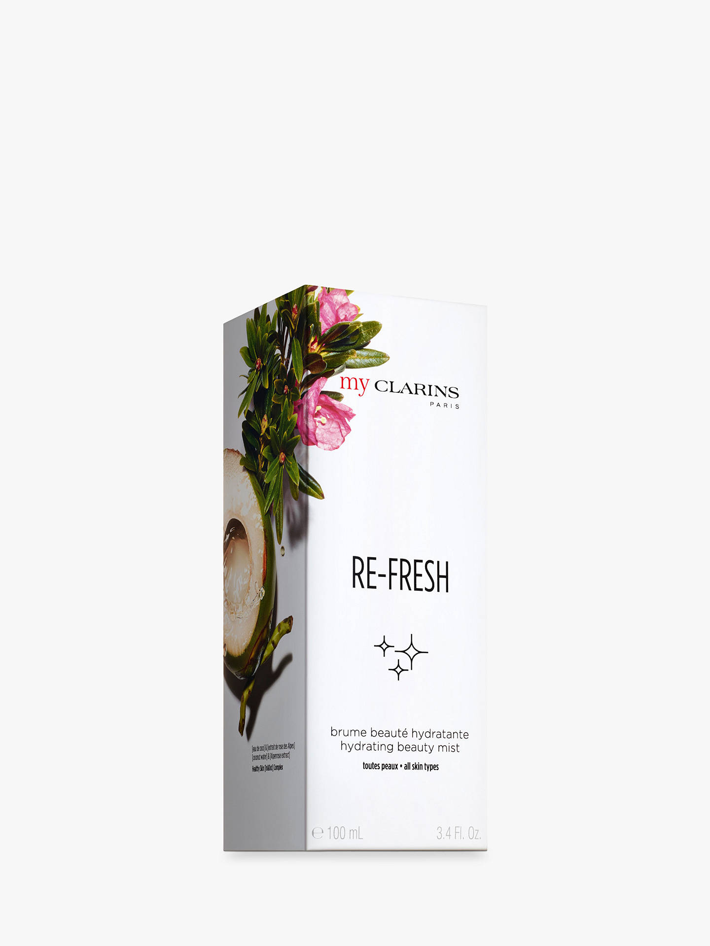 Buy Clarins My Clarins RE-FRESH Hydrating Beauty Mist, 100ml Online at johnlewis.com