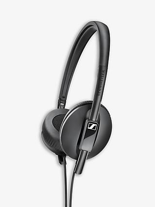 Sennheiser HD 100 On-Ear Headphones, Black