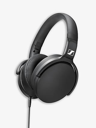 Sennheiser HD 400S Over-Ear Headphones with Mic/Remote, Black