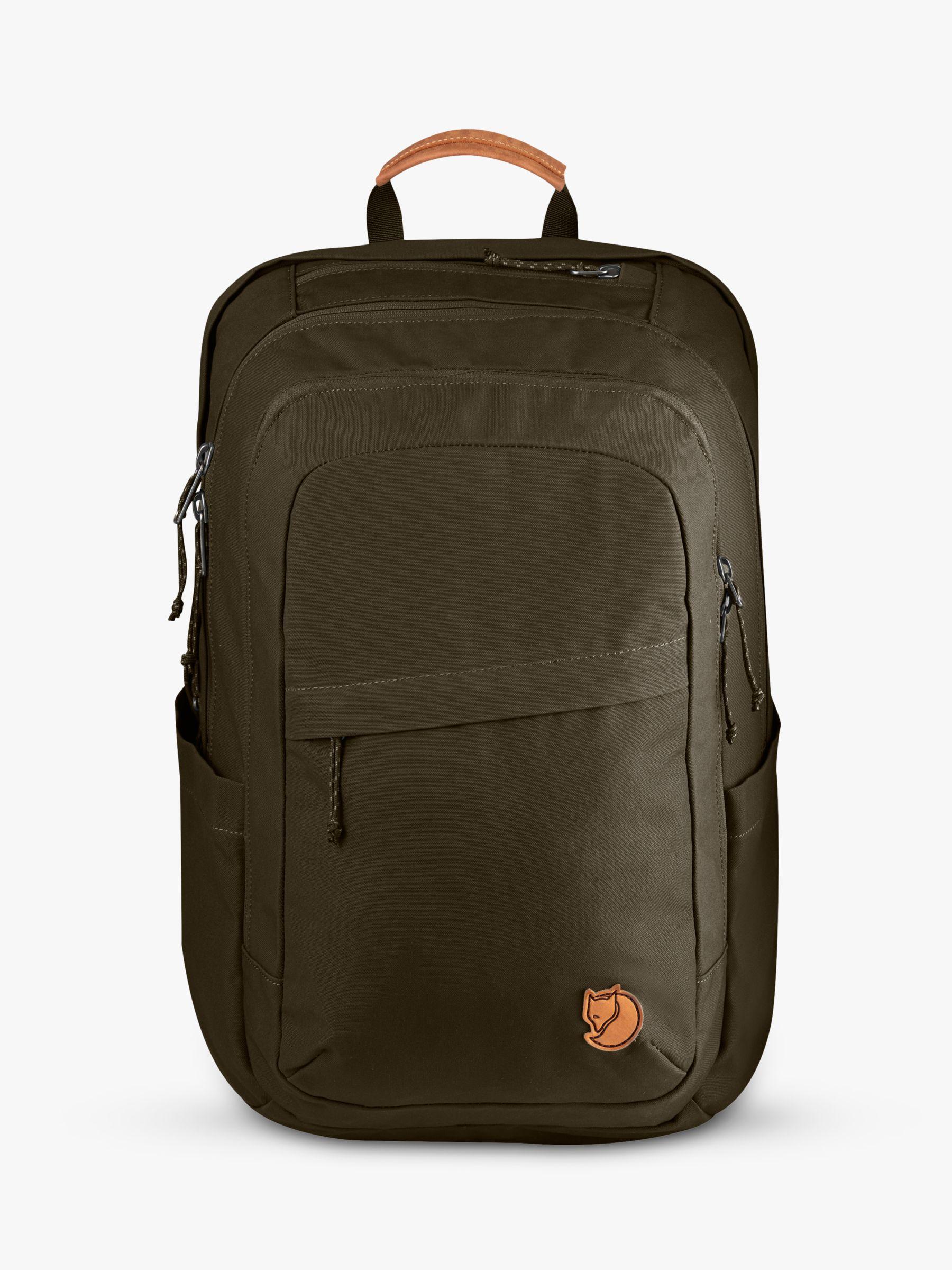 Fjallraven Fjällräven Raven 28L Backpack, Dark Olive